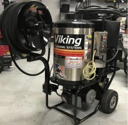 Premium Aaladin 1370 2000PSI Hot Pressure Washer Used, Tested Good