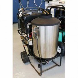 Aaladin 4GPM @ 1600PSI Hot Pressure Washer Used, Tested Good