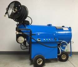 Premium Delco Versa Hot Pressure Washer W/Reel Used, Tested Good