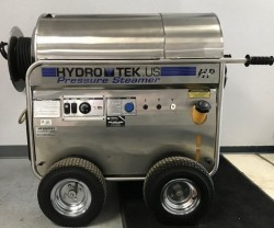 Premium Hydro Tek 2200PSI Hot Pressure Washer & Reel Used, Tested Good
