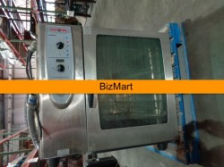 Rational CM 102 Electric Convection Steam Oven With Stand Used, Tested Good