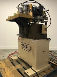 Ritter 2 Head Horizontal Boring Machine W/ Bits & Foot Pedal Used, Tested Good
