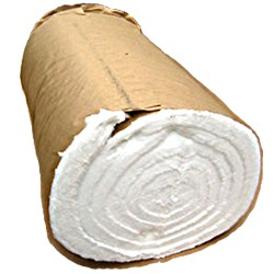 "New Roll  24"" x  25' x 1"" Heater Coil Insulation Wrap Never Used, Tested Good"