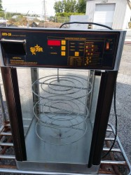 Star HFD-2A Humidity Control Pizza Merchandiser Used, Tested Good