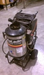 Used Aaladin 1321 Hot Water 120 Volt Diesel 2gpm