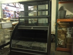 """Columbus 40"""" Refrigerated Deli Display Case Used, Tested Good"""