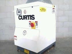Curtis Toledo 15 HP Tankless Rotary Screw Air Compressor Used, Tested Good