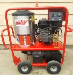 Hotsy 1075SSE Gas / Diesel 3500PSI Hot Pressure Washer Used, Tested Good