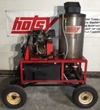 Hotsy 1260SS Hot Gas / Diesel 3000PSI Pressure Washer Never Used, Tested Good