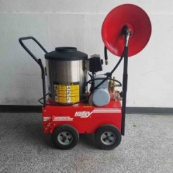 Hotsy 555SS Electric / Diesel 1300PSI Hot Pressure Washer Used, Tested Good
