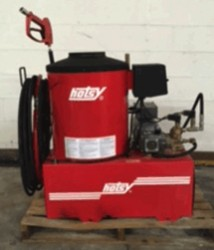 Hotsy 772 Hot Electric / Natural Gas 1500PSI Pressure Washer Used, Tested Good