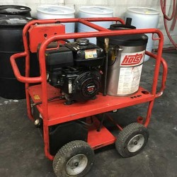 Hotsy 965SS Gas / Diesel 3000PSI Hot Pressure Washer Used, Tested Good