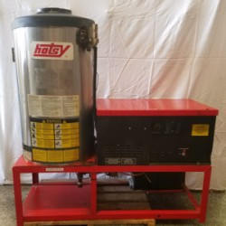 Hotsy 982SS Natural Gas 2000PSI Hot Water Pressure Washer Used, Tested Good