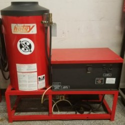 Hotsy 982 Natural Gas 2000PSI Hot Water Pressure Washer Used, Tested Good