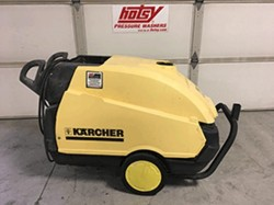 Used Karcher Hds 1055 Hot Water 1ph Diesel 3 5gpm