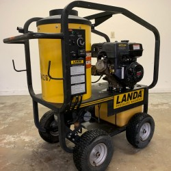 Used Landa Gas 3000PSI Hot Pressure Washer / 52 Hours Used, Tested Good
