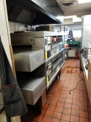 Middleby Marshall PS570S Double Conveyor Pizza Oven Used, Tested Good