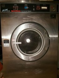 Speed Queen 50 Pound Stainless Washer Used, Tested Good