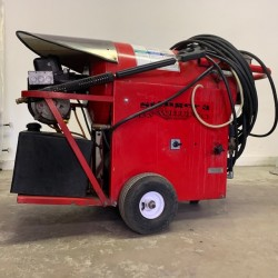 Whitco Stinger III Electric/Diesel Pressure Washer Used, Tested Good